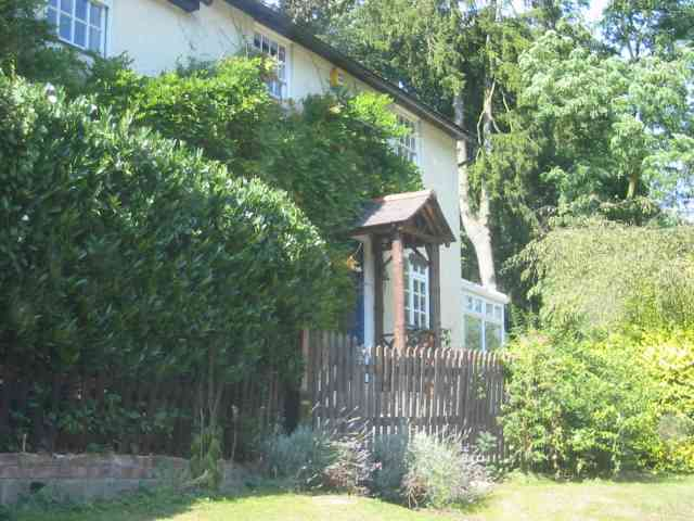 "Cottage opposite the ""gates"" in Codicote Bottom"