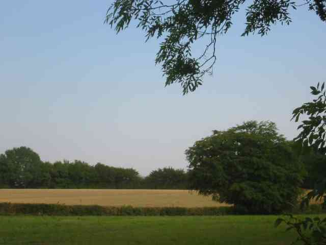 Shilley Green Farm is over to the right