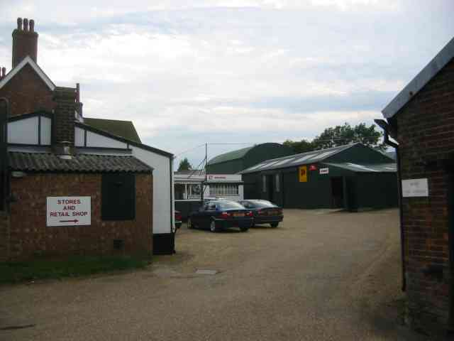 Farm Machinery depot at Wandon End