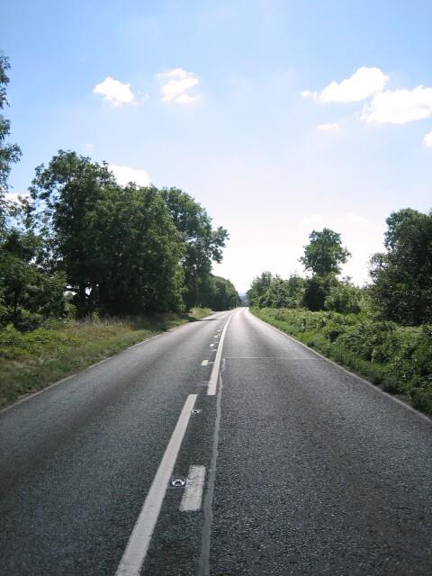 Former Roman Road near Cirencester
