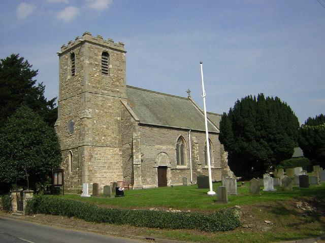 All Saints' church, Upton, Lincs.