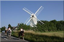 TL4138 : Chishill Windmill by Andrew Pickess