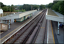 TQ3060 : Reedham Station,  Old Lodge Lane, Purley CR8 by Philip Talmage