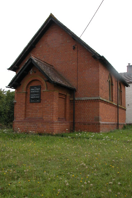 The old Methodist Chapel in Tirley