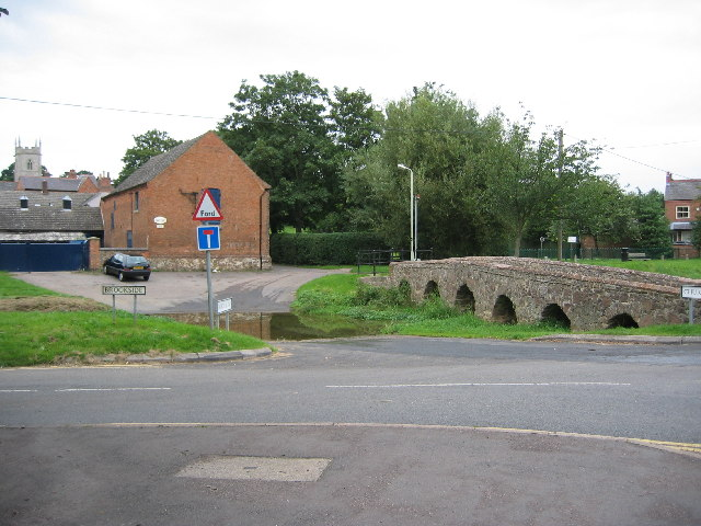 Two ways to cross the brook, Rearsby