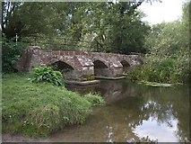 SP2180 : The old Packhorse Bridge by Simon Jobson