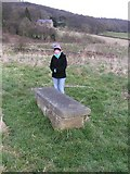 SK2176 : Humphrey Merrill's grave, Eyam by Dave Dunford