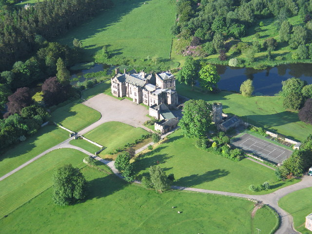 Greystoke Castle, near Penrith, Cumbria
