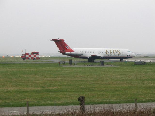 ETPS BAC 1-11 at  RAF Valley