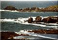 C3959 : Ocean waters playing around Malin Head by Corinna Schleiffer