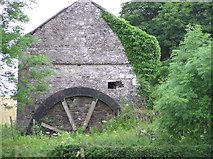 H5956 : Old corn mill near Ballynasaggart Church of Ireland by Kenneth  Allen