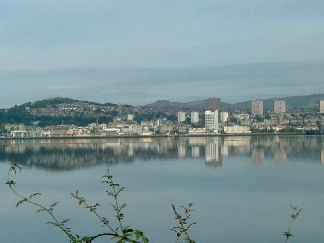 Dundee Waterfront and River Tay
