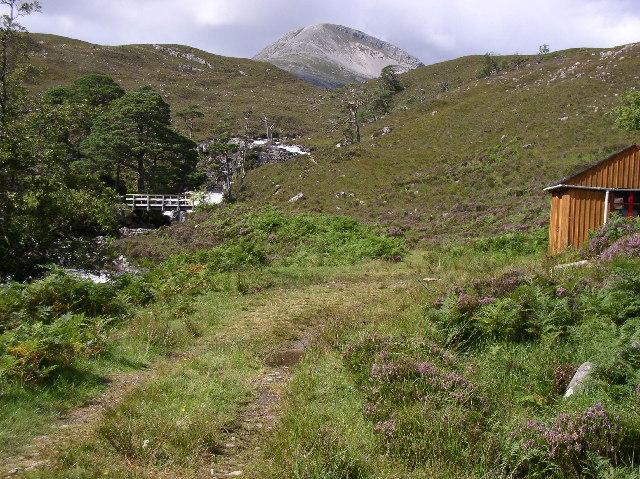 Refuge hut, River Coulin