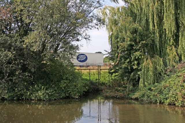 Beeston Canal and Boots Lorry