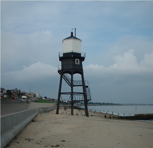 Disused lighthouse, Dovercourt, Essex
