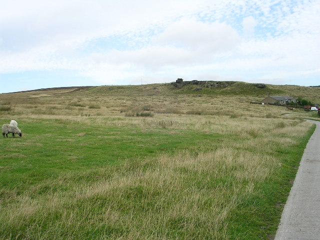 View towards Doubler Stones