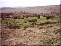 SK2775 : Stone circle near Bar Brook by nj