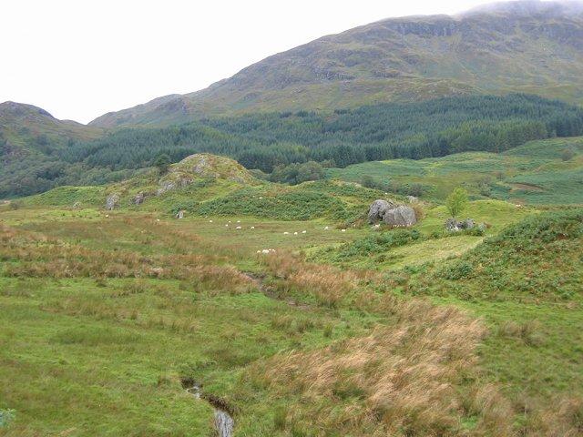 Rough ground, between Loch Iubhair and Loch Dochart