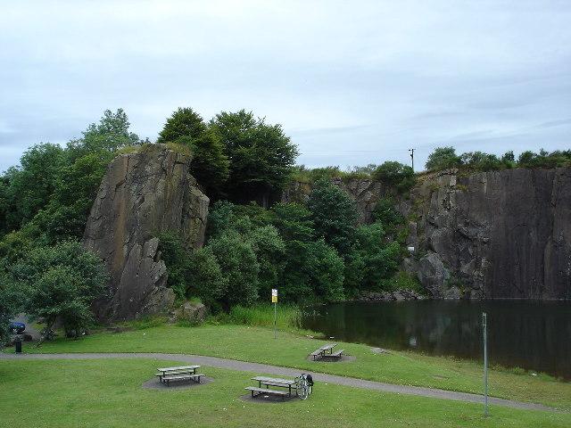 Auchinstarry Quarry, Kilsyth