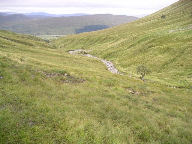 The path up from Achallader farm 3