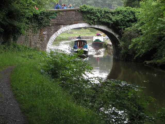 Williamson Bridge on The Leeds and Liverpool Canal near East Marton