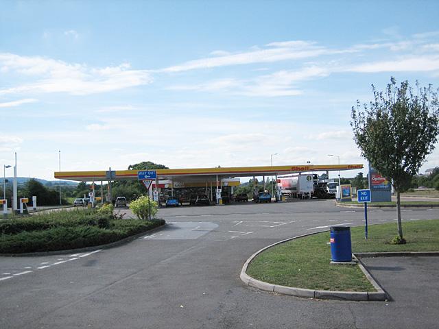 Taunton Deane Services - South-Bound