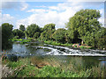 SP0647 : Ford at Harvington Lock by Dave Bushell