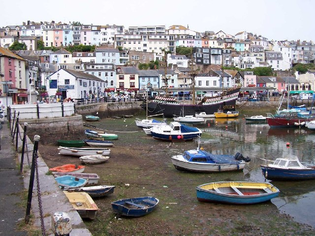 Two Faces Of Brixham - The Tourist Trade