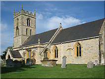 SP1452 : Welford-on-Avon Church by Dave Bushell