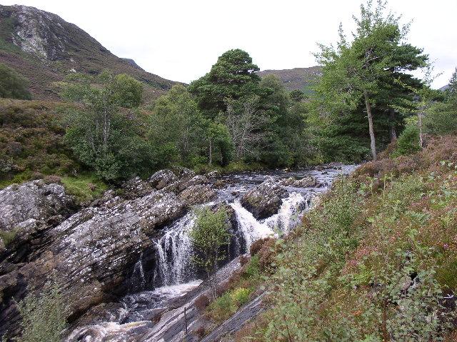 Waterfall, River Carron
