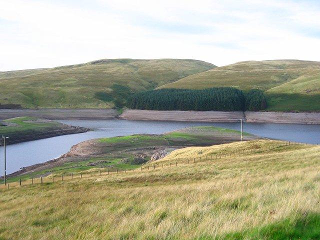 Upper Glen Devon Reservoir.
