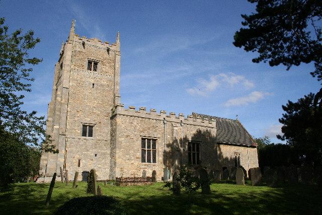 St.Mary's church, Carlton-le-Moorland, Lincs.