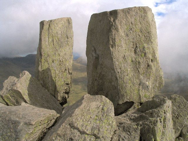 Adam and Eve on Tryfan
