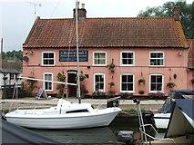 TG4022 : The Pleasure Boat Inn, Hickling Broad by Greg Chapman