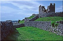 L9802 : O'Brien's Castle, Inis Oirr, Aran Islands by Christine Matthews