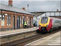 SW6439 : Camborne Railway Station by Tony Atkin