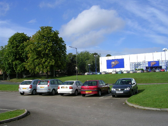 Urban area SW of Derby