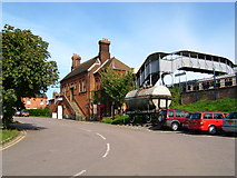 TL8928 : Chappel and Wakes Colne Railway Station, Essex by Brenda Howard