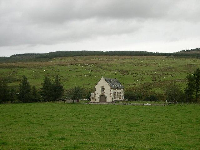 Glen Lussa Hydro-Electric Generating Station, near Peninver, Kintyre
