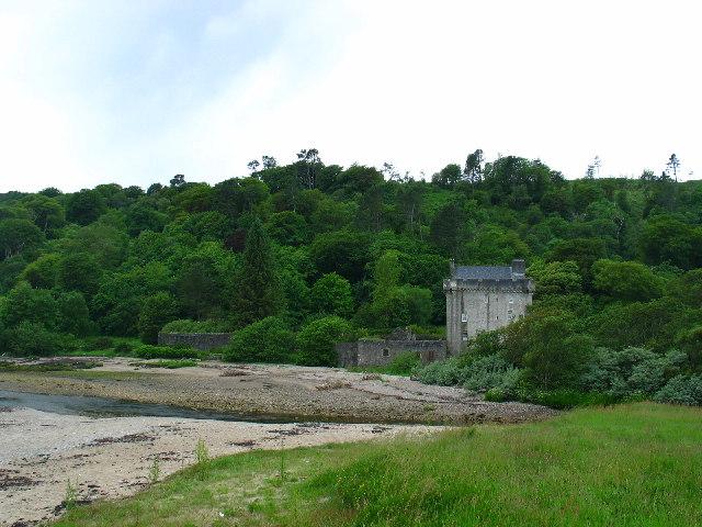 Saddell Castle, Kintyre.