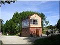 SK1461 : Hartington Signal Box - Tissington Trail by David Grimshaw
