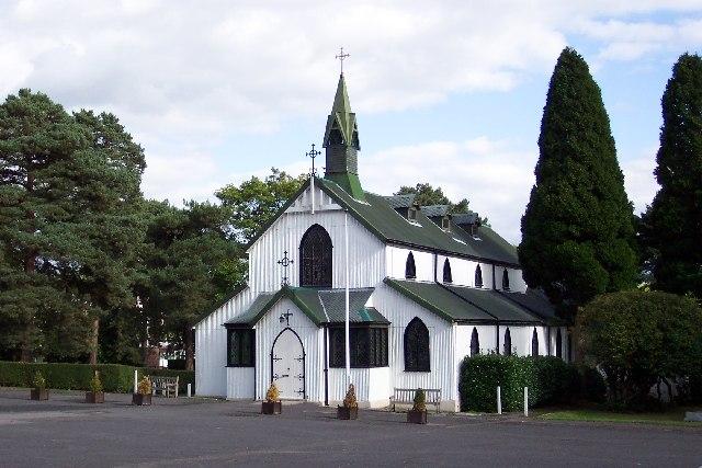 The Garrison church of St Barbara at Deepcut