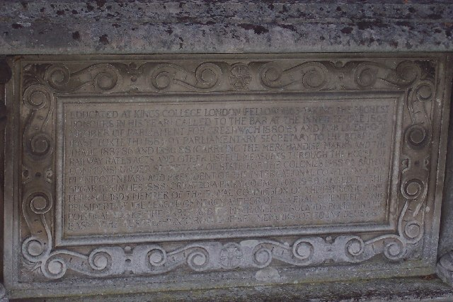 Lord Pirbright's tomb at Wyke