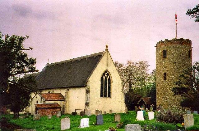 St Andrew's Church, Bramfield, Suffolk