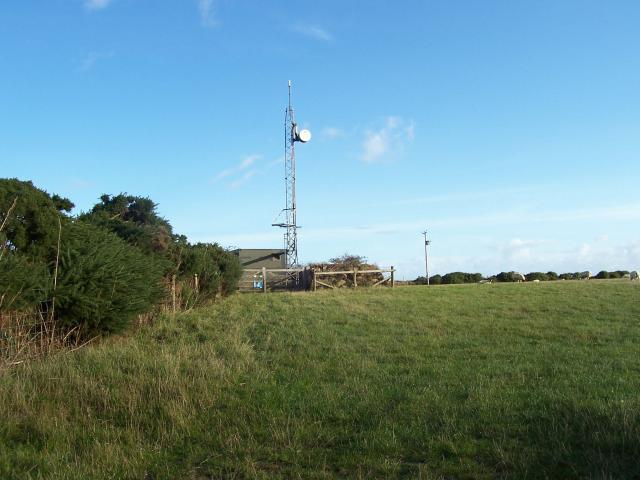 Mast on Farm Land