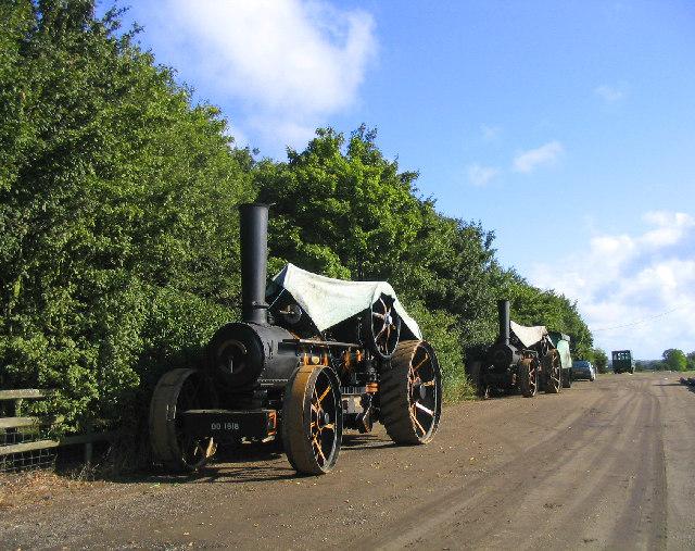 Steam Traction Engines - Barleylands Farm