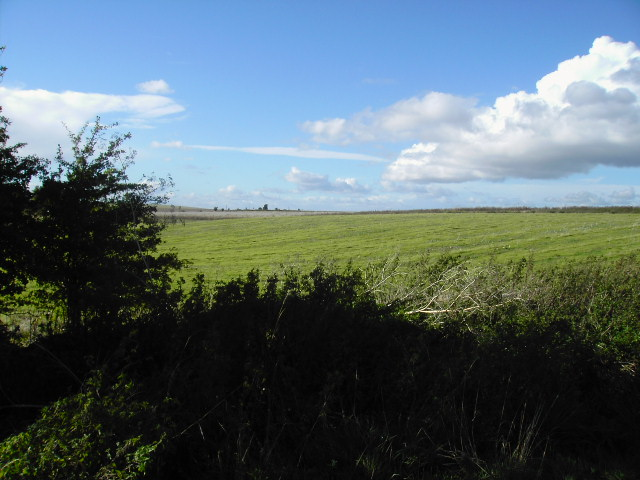 Farmland north of Compton