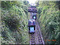 SS7249 : Lynton's Cliff Railway by charles
