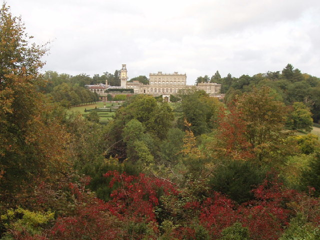 Cliveden House from the Duke's Seat