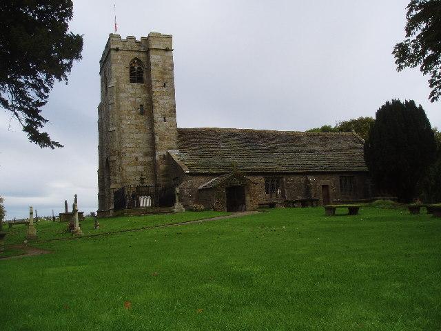 St Mary-le-Ghyll Church, near Barnoldswick, Yorkshire
